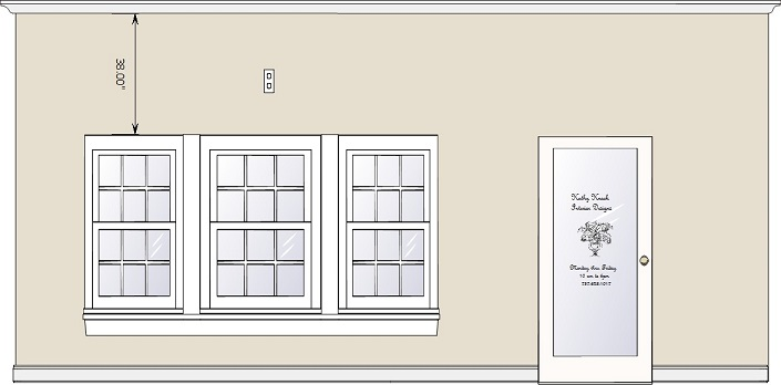 Window Designs Drawing